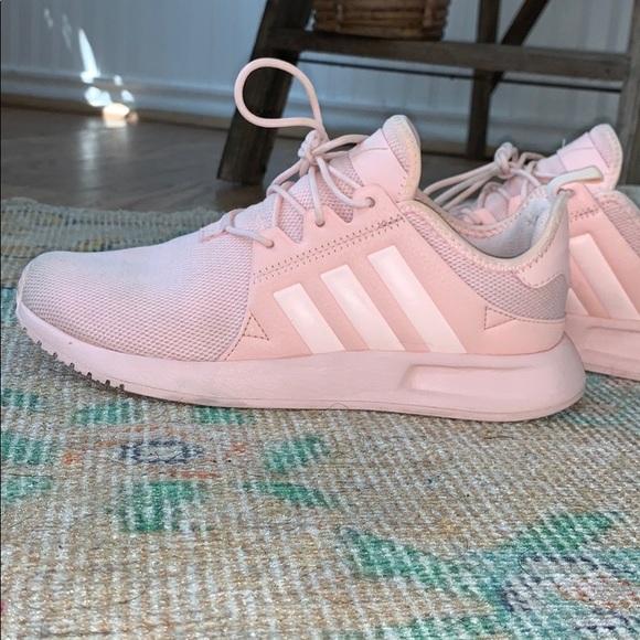 Baby Pink Women's Adidas Sneakers